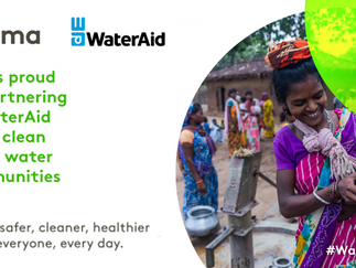 Halma Launches Partnership with WaterAid