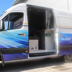 Custom Van-Fit for W M McDonald