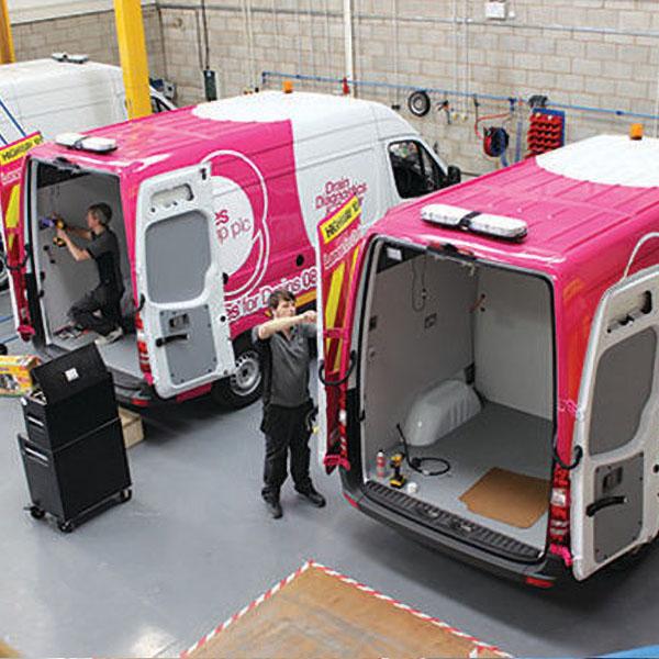 Mini-Cam: CCTV Inspection Vans