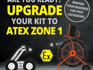 Upgrade Your Kit to ATEX Zone 1