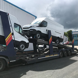 Delivery of Vehicle From Malta