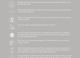 Team Mini-Cam Share Best WFH Tips