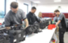 Mini-Cam's UK head office and factory