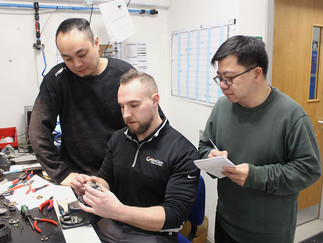 PD Tech Visit from China, HK