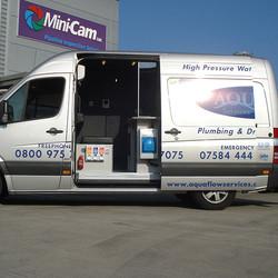 Custom Van-Fit for Aquaflow
