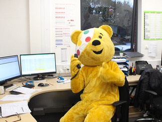 The Day Pudsey Popped In!