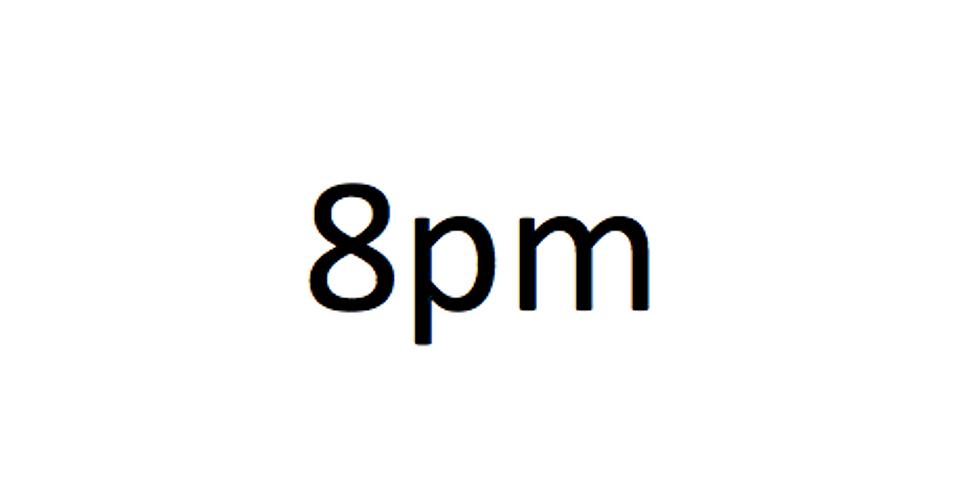 8pm Session