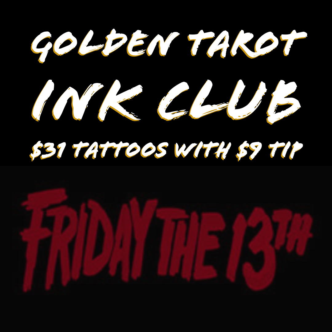 Friday 13th 6:30pm Tattoo Session  (1)