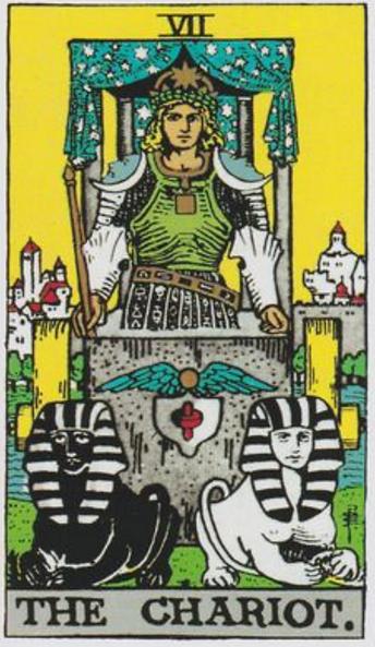 The Chariot Tarot Card Tattoo