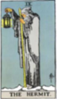 The Hermit Tarot Card Tattoo