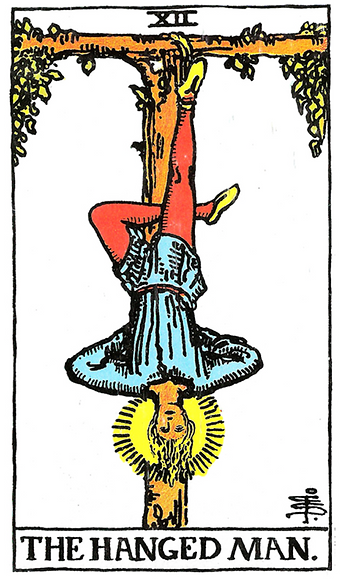 The Hanged Man Tarot Tattoo