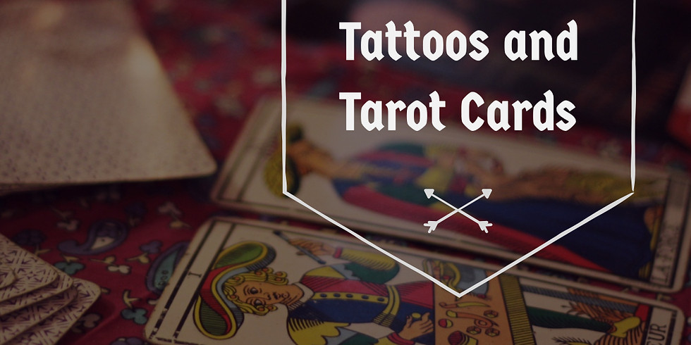 SOLD OUT 3:30pm- Tattoos and Tarot Cards Oct 26th- Julian Maceac 3:30pm Session