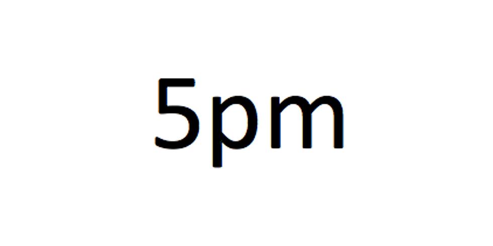 5pm session