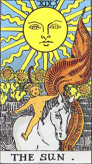 The Sun Tarot Card Tattoo