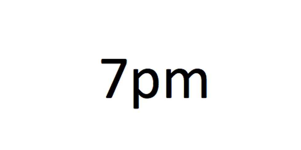 7pm Session