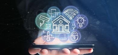 businessman-holding-smart-home-interface