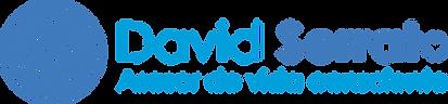 Logotipo David Serrato_Horizontal_Azul o