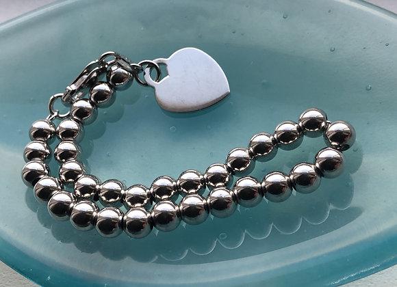 Ball Heart Bracelet