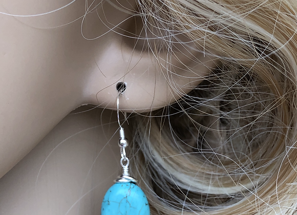 Oval Turquoise