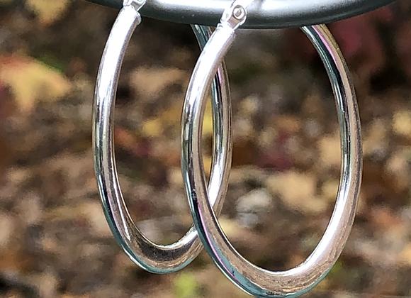 Oval Hoop