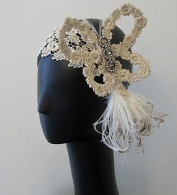 Lace Butterfly Headband