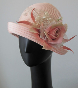 Peach Blossom Hat