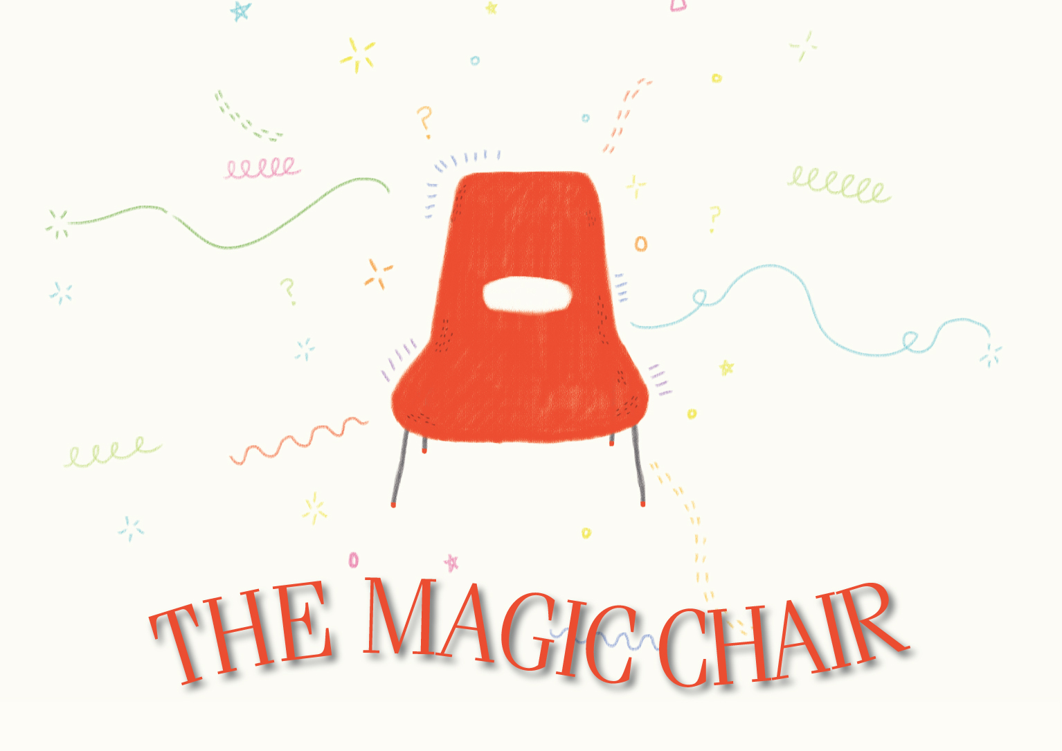 The Magic Chair book cvr