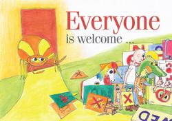 Everyone is Welcome cvr