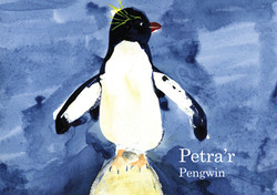 Welsh Petra the Penguin Book