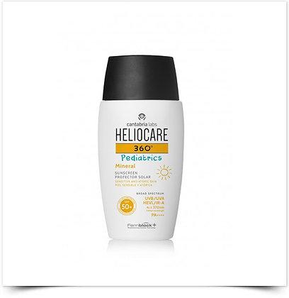 Heliocare 360 Pediatrics Mineral Pele Sensível Atópica SPF 50+