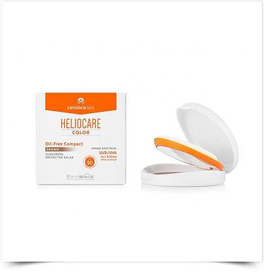 Heliocare Compacto Oil Free SPF50 Escuro | 10g