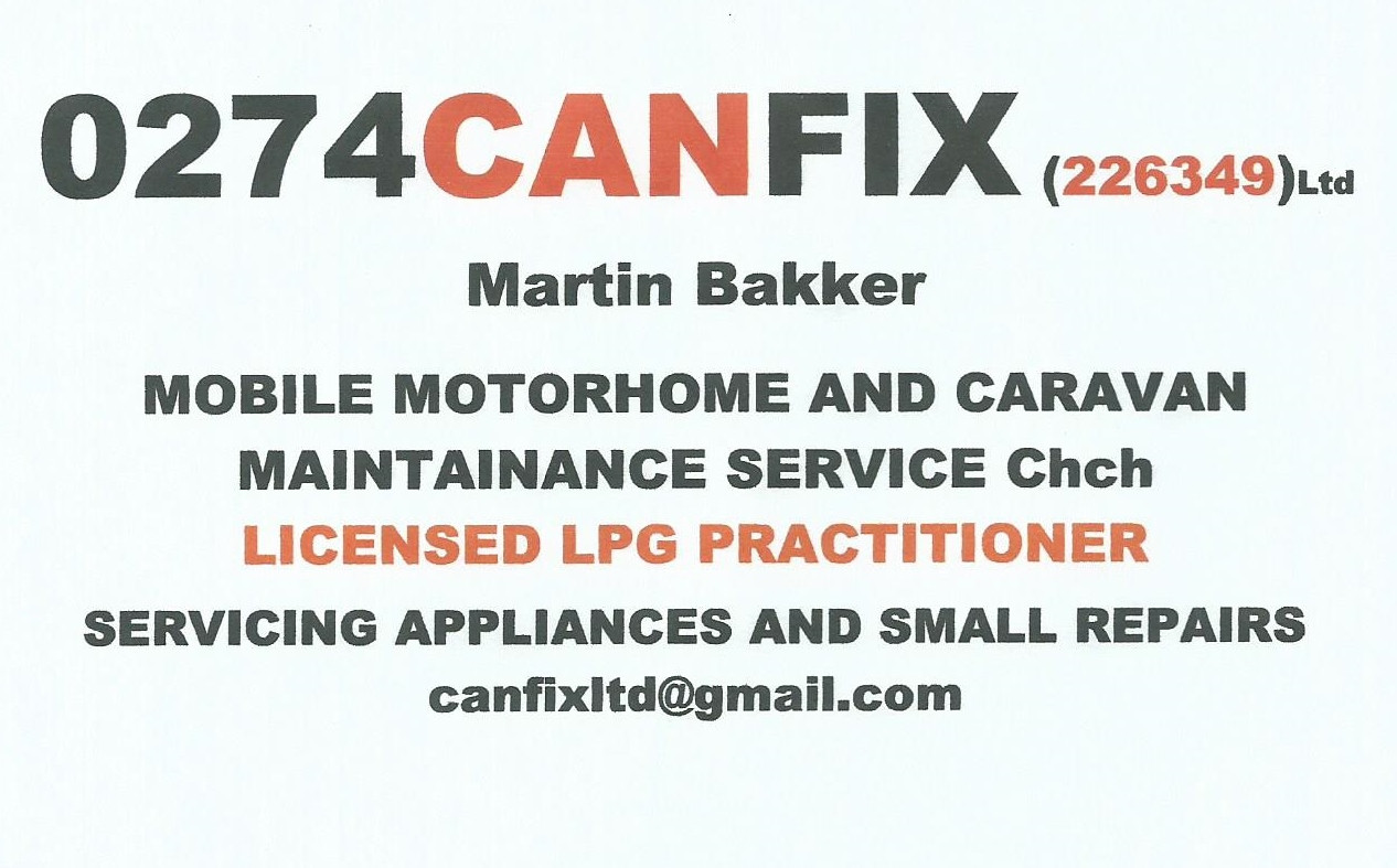Caravan & Motorhome repairs & GAS Fitting   CANFIX Ltd