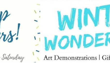 ARTIST CALL OUT: ART DEMONSTRATION AND SALES OPPORTUNITY DURING YEAR-END EVENTS
