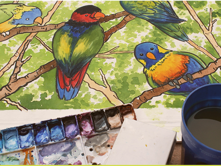 ARTIST CALL OUT: Naturally Inspired Paint Out at Indianapolis Zoo
