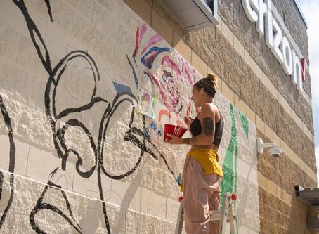 Teen Artist Mural Camp: Nickel Plate Arts & Flexware Innovations