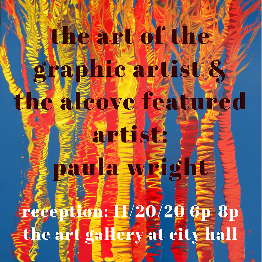 CANCELLED: The Art of the Graphic Artist & The Alcove Featured Artist Reception