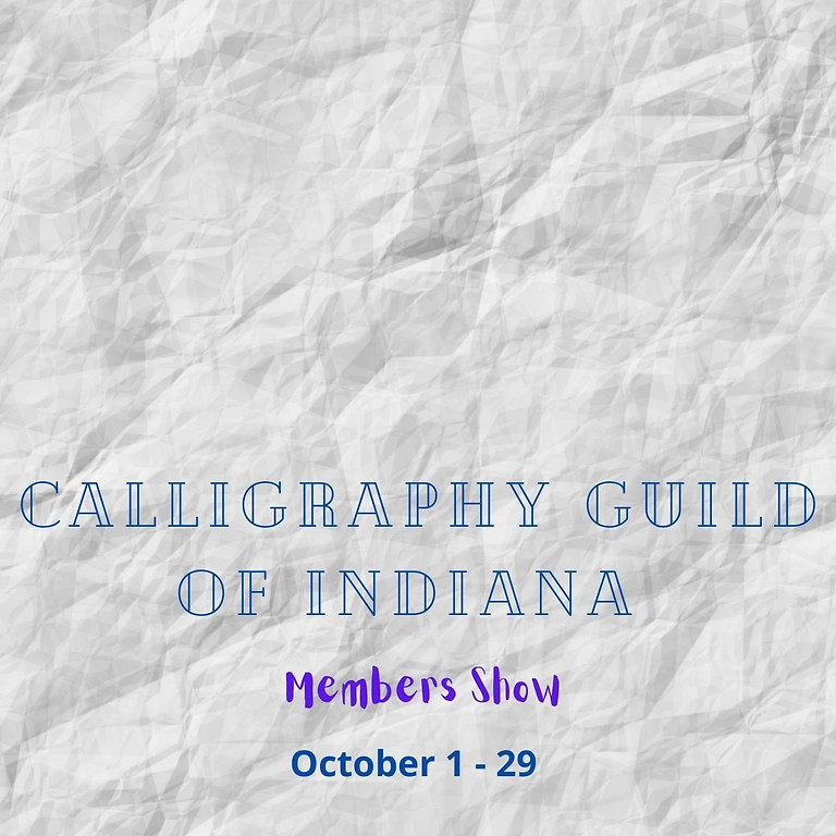 Calligraphy Guild of Indiana Reception