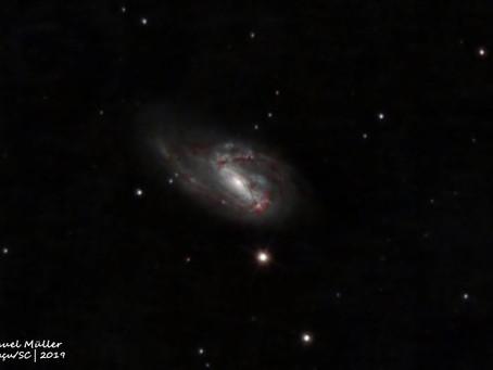 Galáxia Messier 66