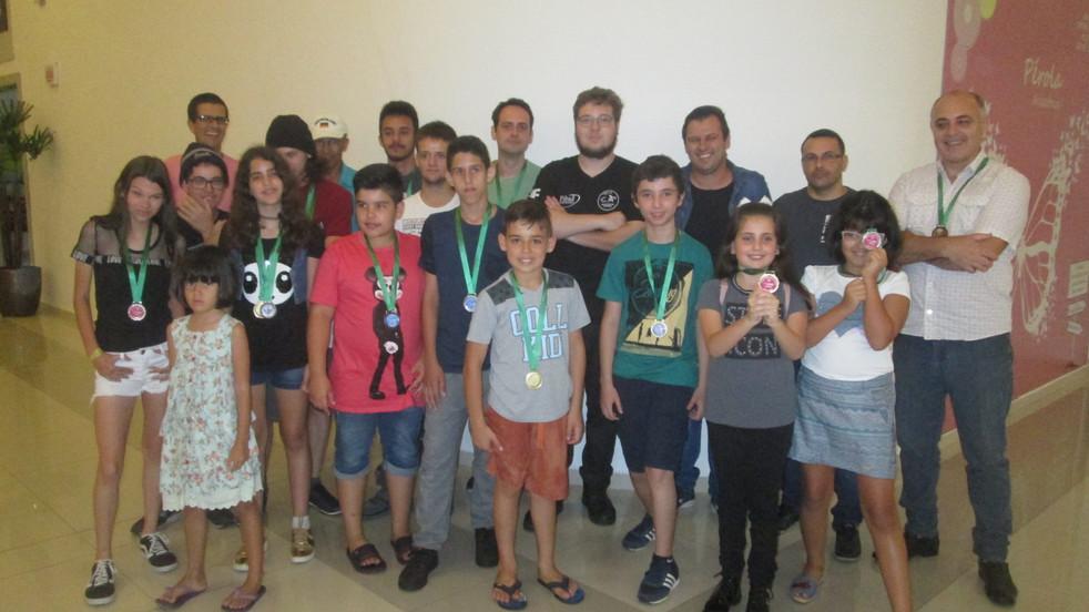 1ª Copa de Xadrez foi um sucesso