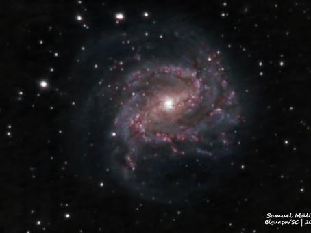 Galáxia do Catavendo do Sul - Messier 83