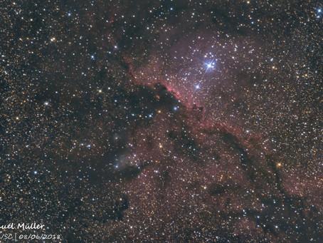 NGC 6188 - Nebulosa dos Dragões Lutando em Ara