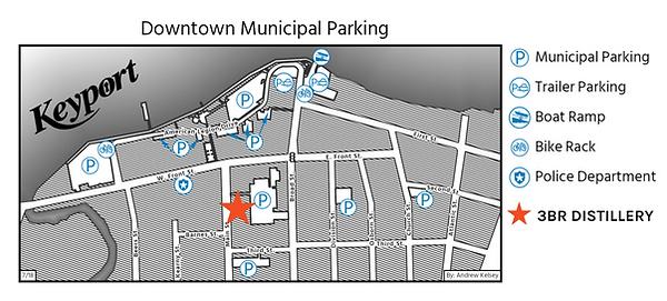 Keyport Downtown Municipal Parking