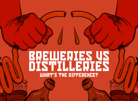 Breweries Vs Distilleries: What's the difference?
