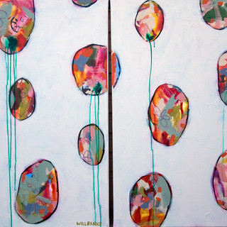 Balloons Diptych II