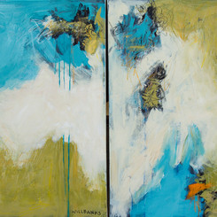 Where I End and You Begin Diptych