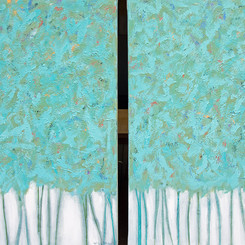 Through the Woods Diptych