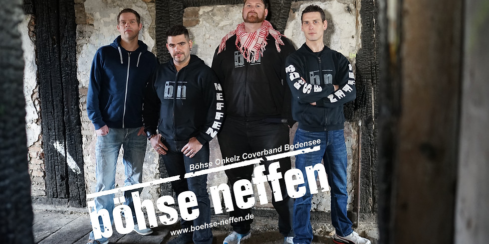 Onkelz Tribute Nacht Böhse Neffen und das G.O.N.D. Commando