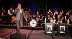 Jeff singing Sinatra