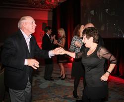 Guests enjoying some dancing