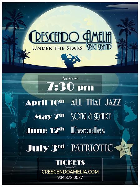 CABB - 2021 Under the Stars - 18x24 Lawn
